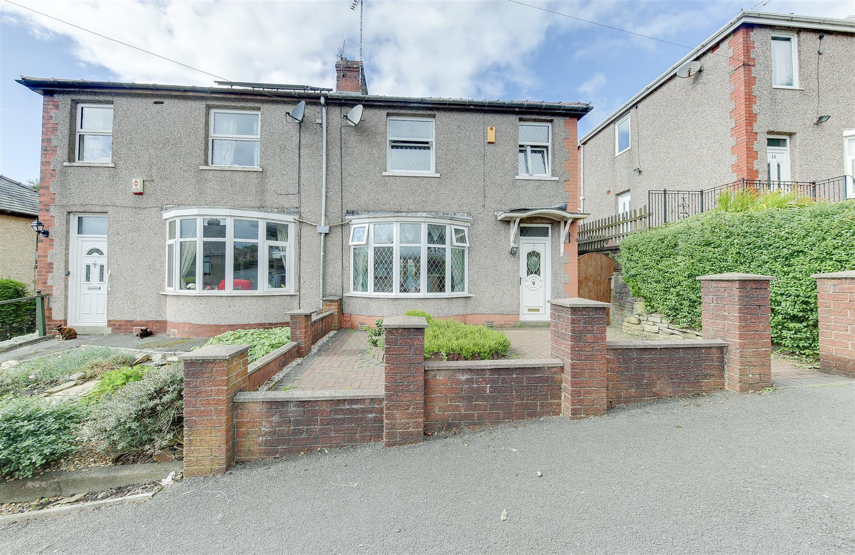 3 Bedrooms Semi Detached House for sale in Fernhill Avenue, Stacksteads, Bacup